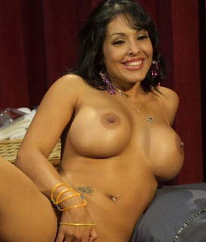 Gorgeous latina porn star Nina Mercedez masturbating in these pictures and ...