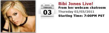 Bibi Jones LIVE!