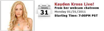 Kayden Kross LIVE!