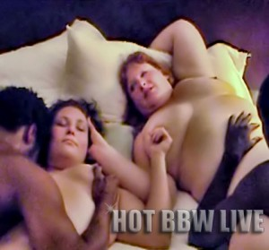 Interracial BBW Swingers Party 1
