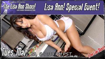 Lisa Ann Live