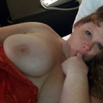 Sexy BBW with Big Boobs Erika Red