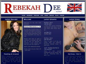 Rebekah Dee's Official Website