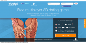 Yareel - Free multiplayer 3D dating game